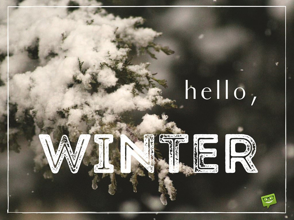 Hello Winter Quotes And Images To Share