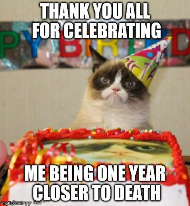 Birthday Thank You Meme