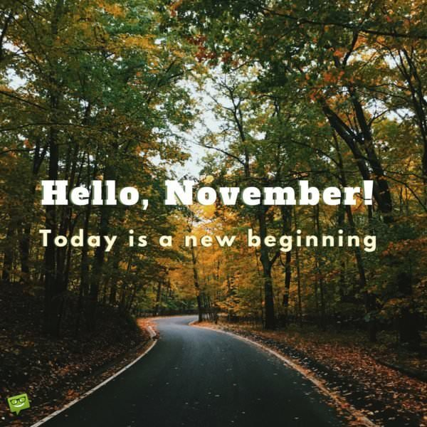 Hello November! Quotes For The Month Of Gratitude