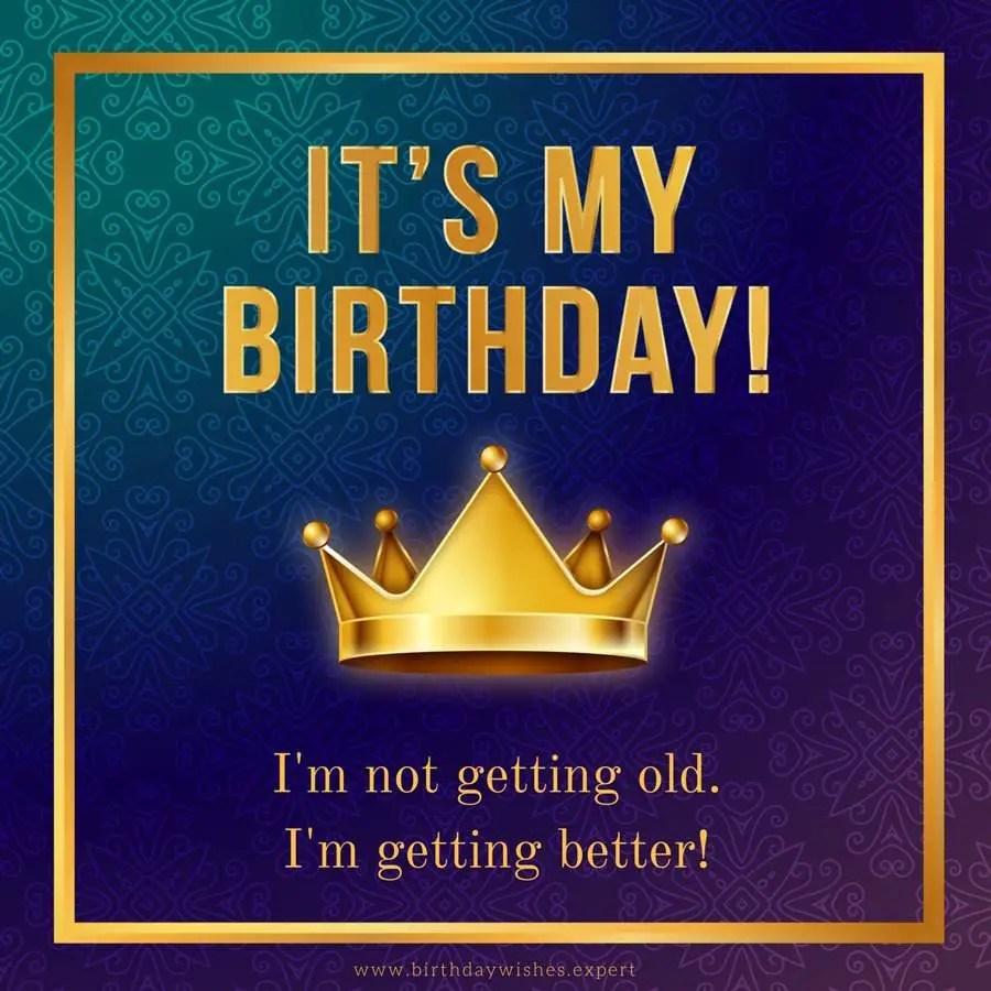 My Birthday Facebook Status Update Happy Birthday To Me!