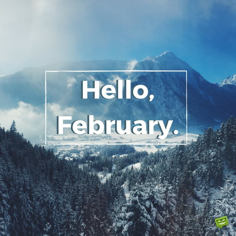 Hello February! A Reminder Of Love