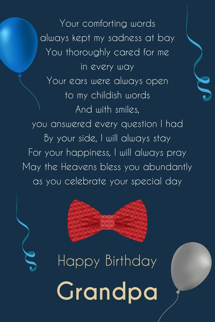 Birthday Poems For Grandma Grandpa Greetings To My