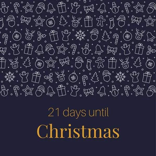 Days Christmas Until 22