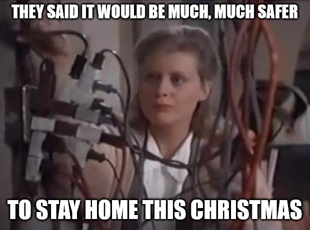 They Said It Would Be Much Much Safer To Stay Home This Christmas