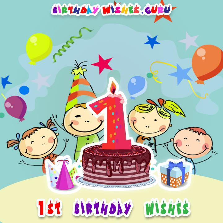 1st birthday wishes for