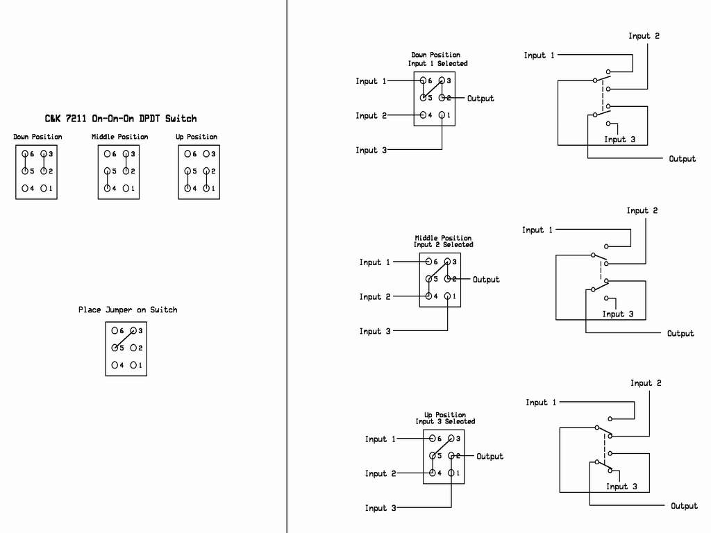 3 position toggle switch on off wiring diagram 7 pin trailer socket rotary schematic terminal