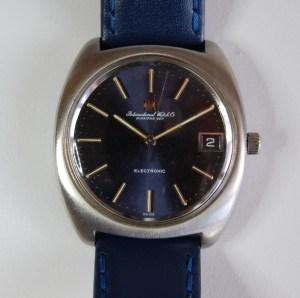 1971 IWC Electronic Calendar watch