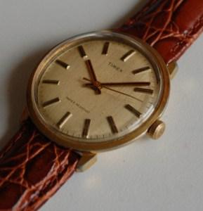 1978 Timex mens manual wind