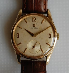 1962/64/65 Omega 9ct gold watch