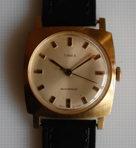 1968 Timex square cased men's watch