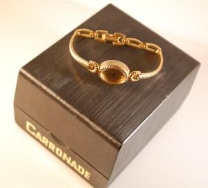 c1982 Carronade ladies bracelet watch