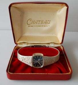 c1976 Chateau ladies bracelet watch