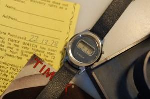 1978 Timex Digital Ladies watch