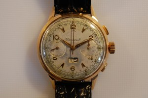 c1955 Philippe 18ct chrongraph with venus 211