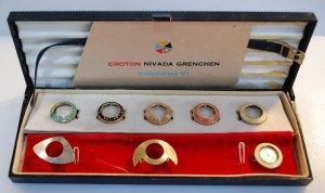 c1961 Croton Nivada Grenchen ladies watch with bezels