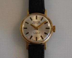 c1968 Montine ladies Swiss manual wind watch