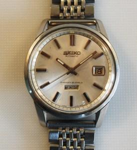 1964 Seiko day date men's watch