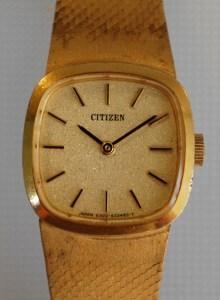 1975 Citizen ladies dress watch