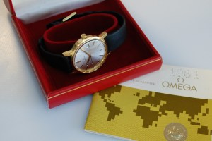 1973 1978 Omega men's watch with box and papers