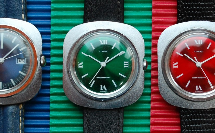 1971 Timex red dial
