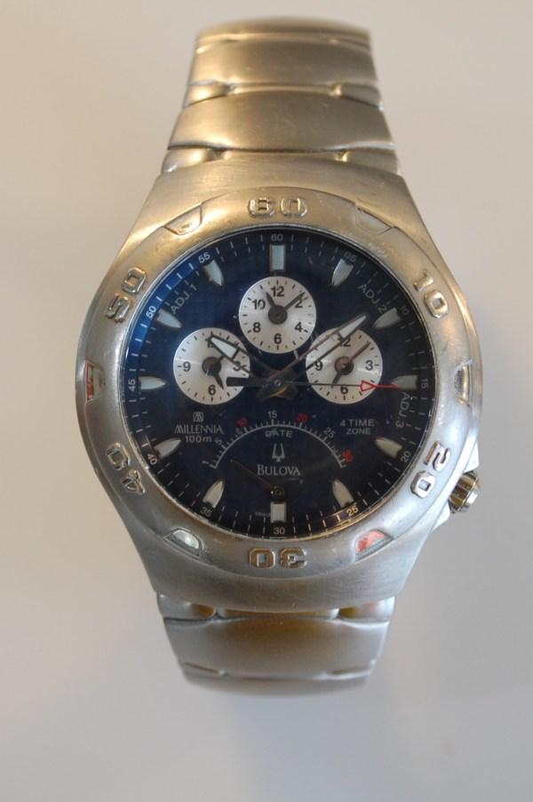 2003 Bulova Millennia 4 Time Zone Watch - Birth Year Watches