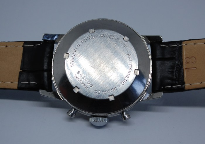 c1960 J.W. Benson Chronograph