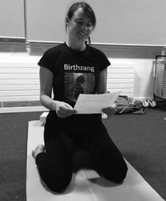 pregnancy yoga frome Eleanor Hayes