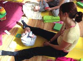 birthzang mum baby yoga reading 2