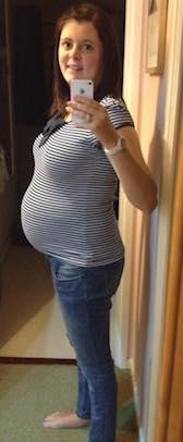 Birthzang Lucy pregnant