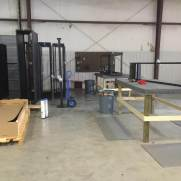 Pre Fab warehouse racks cabinets