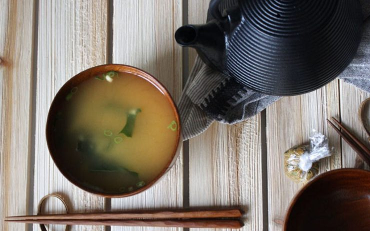 Raw instant miso soup bombs