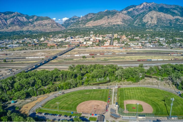 Ogden Arial views of the hot US real estate market