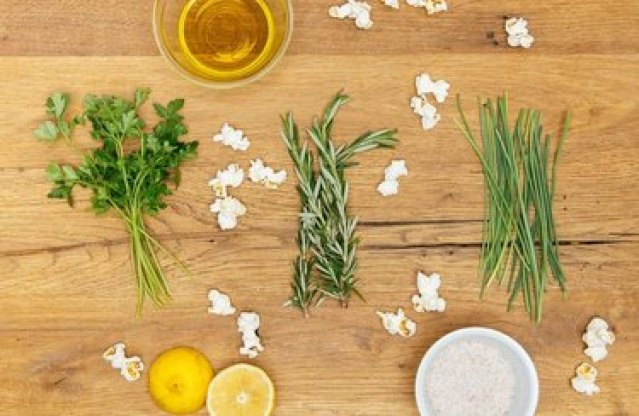Popcorn recipe for herb lovers