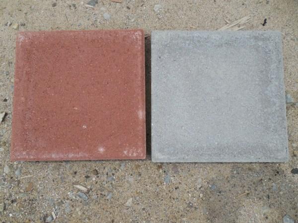 12x12 red grey patio bischer