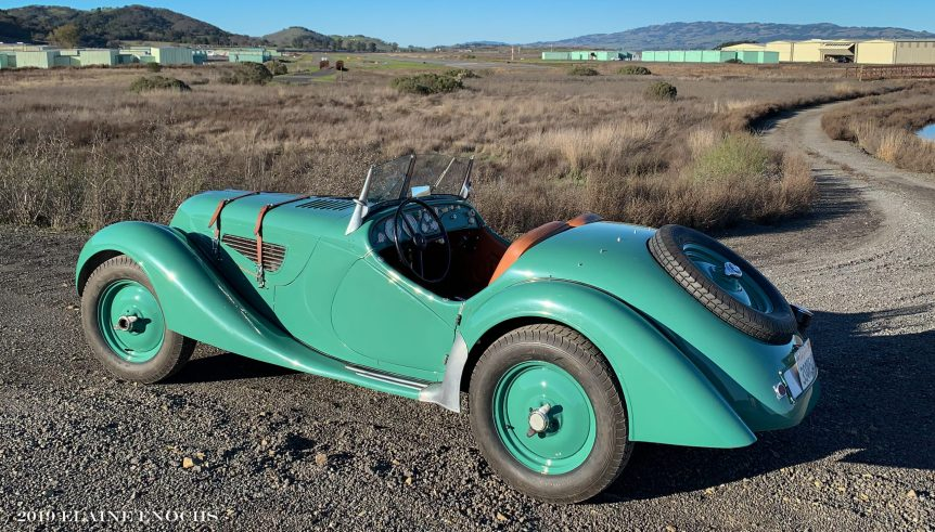 Jan 2020 Feature Car 1939 BMW full size poster image