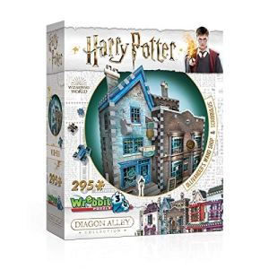 harry potter 3d puzzle ollivander's scribbulus