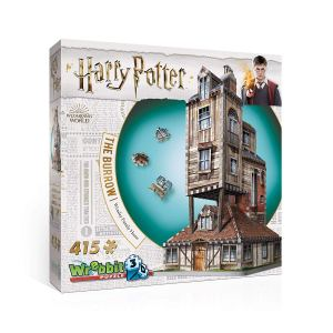 harry potter 3d puzzle burrow