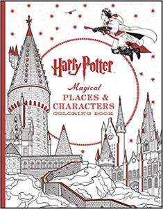 places and characters coloring book