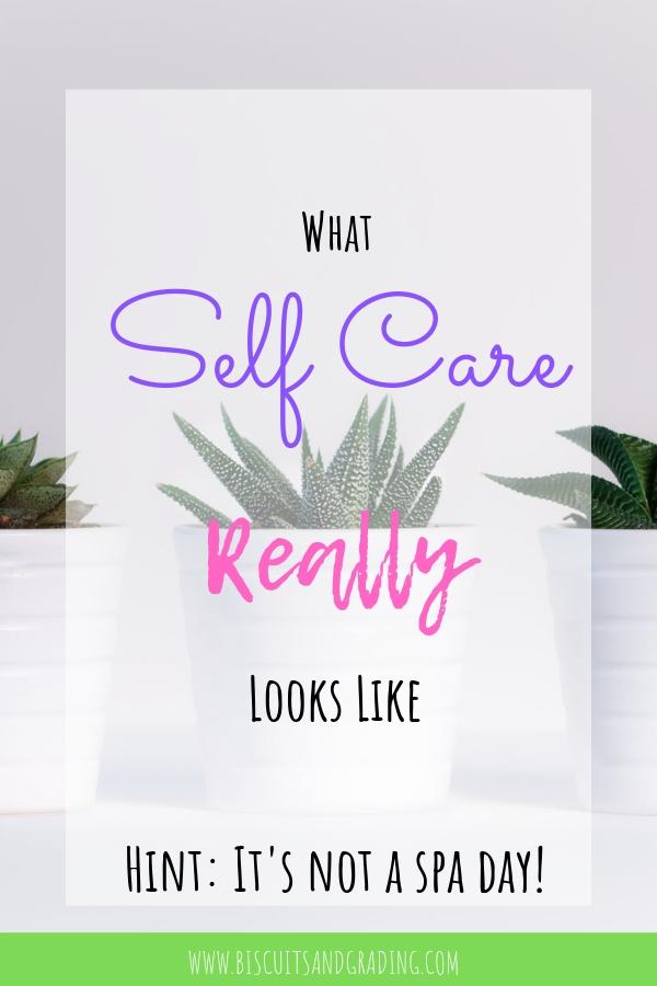What Self Care Really Looks Like #selfcare #tiredmom #newmom #momblog