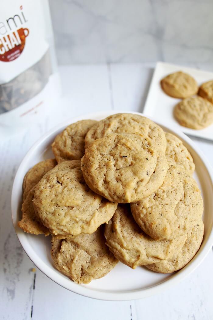 teami chai spiced honey cookies