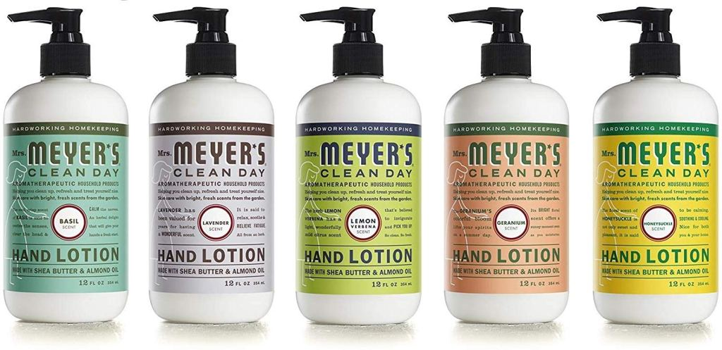 mrs meyers hand soap