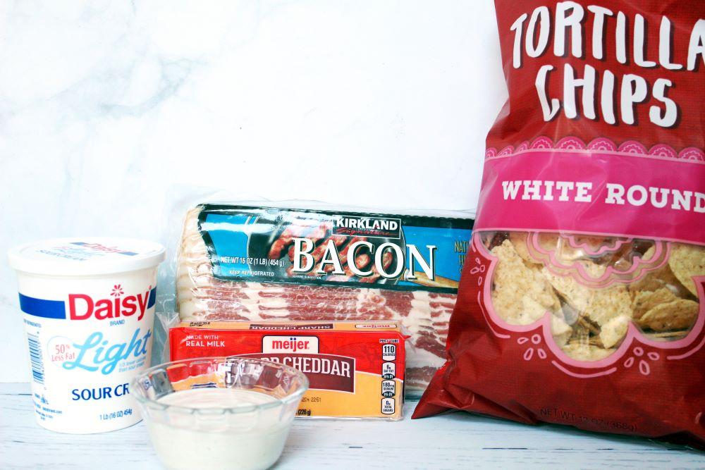 bacon cheddar ranch dip ingredients 1
