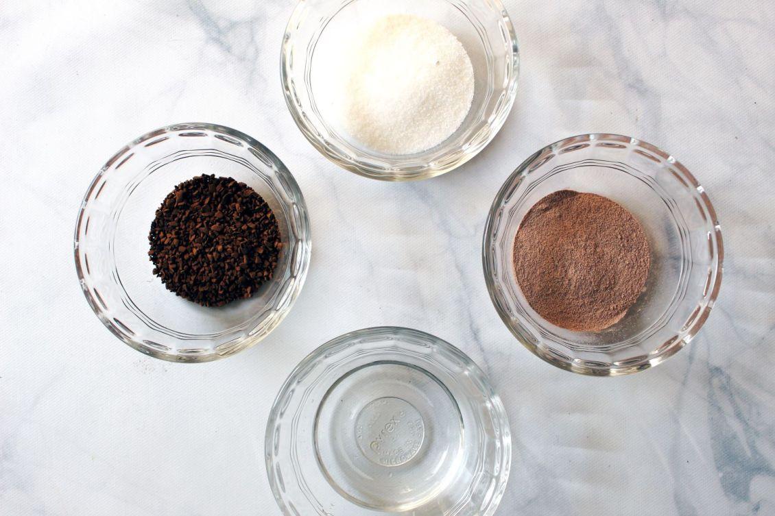 mocha dalgona coffee ingredients 1