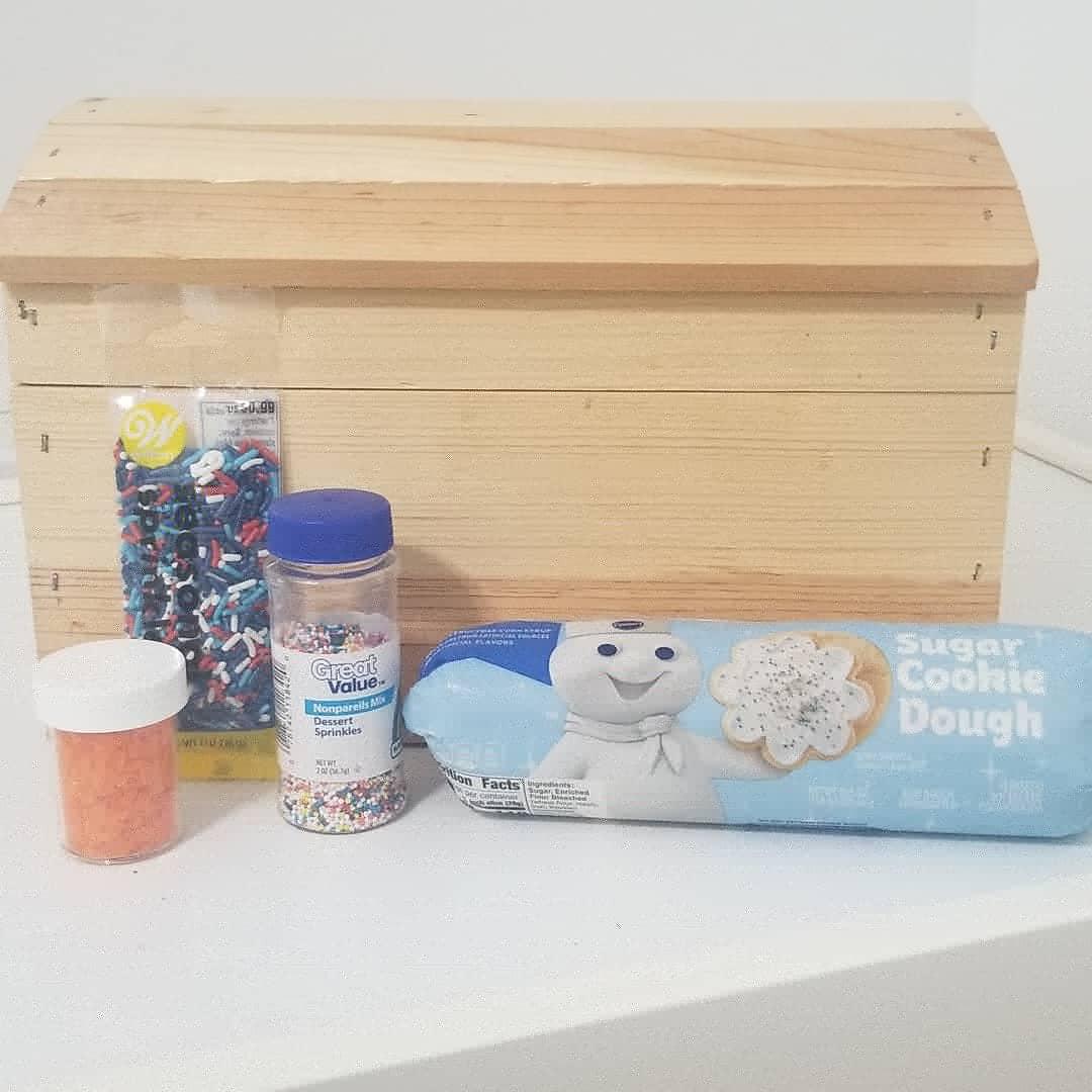 making cookies week 1 preschool homeschool treasure chest