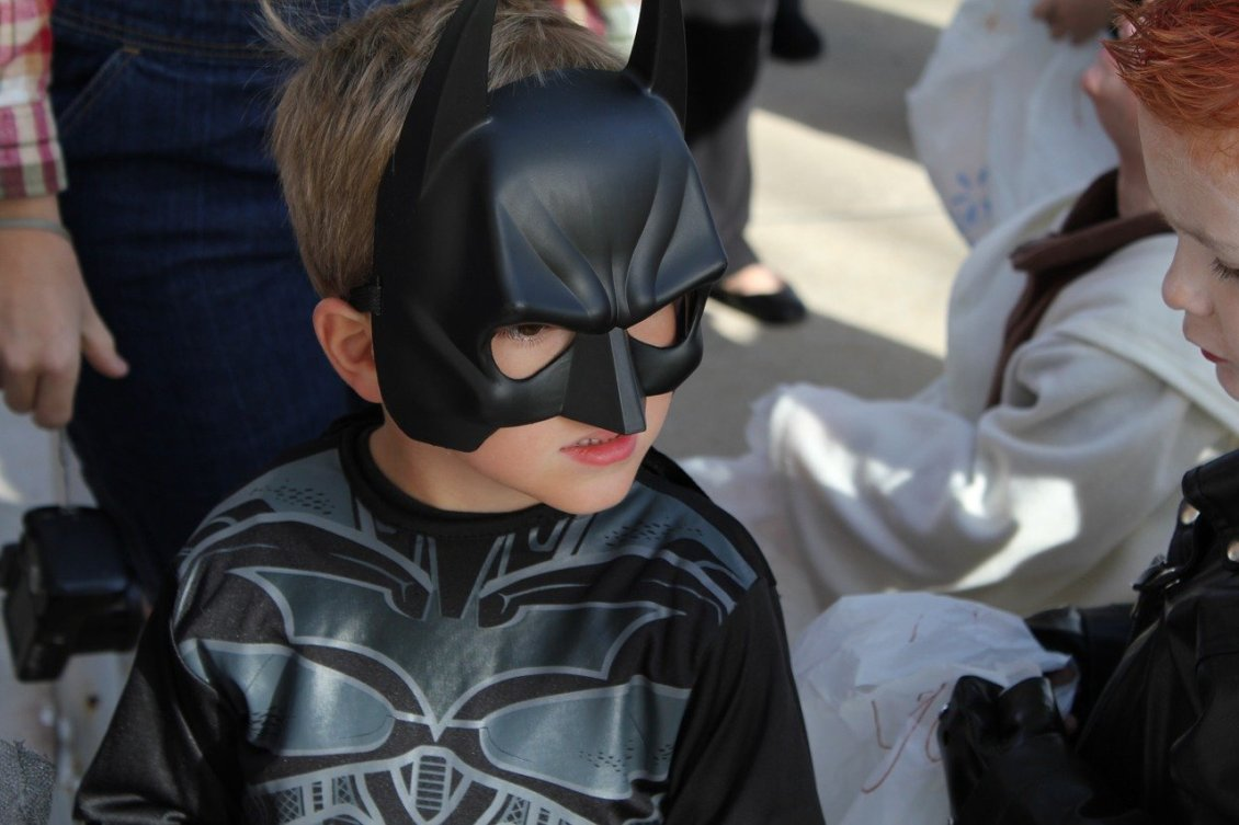 boy in batman costume alternatives to trick or treating