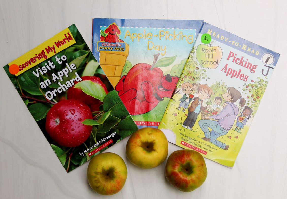Fall Apple Picking Books 1
