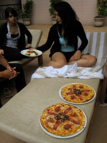 Leela Palace pizza - best in b'lore