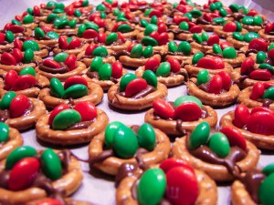 M&M Pretzel Thingies