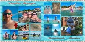 Fun on the beach in Costa Maya, where we had an open bar starting around 8am. Yep. We did. Click to enlarge.