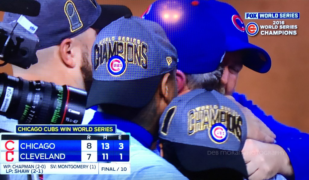 Next Year is Now! Fun tidbit: the last Cubs WS win in 1945 was also 8-7.